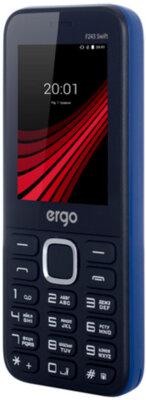 Мобильный телефон Ergo F243 Swift Dual Sim Blue 8