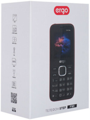 Мобильный телефон Ergo F243 Swift Dual Sim Blue 9