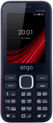 Мобильный телефон Ergo F243 Swift Dual Sim Red 1