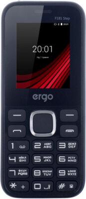 Мобільний телефон Ergo F181 Step Dual Sim Blue 1