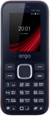 Мобільний телефон Ergo F181 Step Dual Sim Red 1