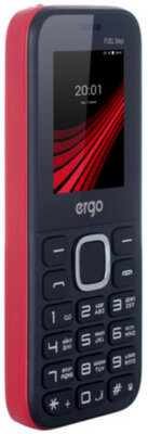 Мобільний телефон Ergo F181 Step Dual Sim Red 8