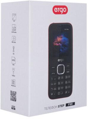 Мобільний телефон Ergo F181 Step Dual Sim Red 9