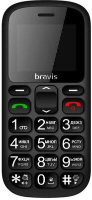 Мобільний телефон Bravis C181 Senior Dual Sim Black 1