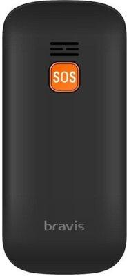 Мобільний телефон Bravis C181 Senior Dual Sim Black 3