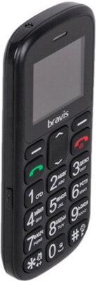 Мобільний телефон Bravis C181 Senior Dual Sim Black 4