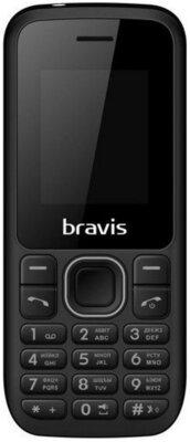 Мобильный телефон Bravis C183 Rife Dual Sim Black 1