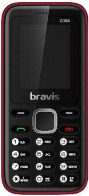 Мобильный телефон Bravis C184 Pixel Dual Sim Red 1
