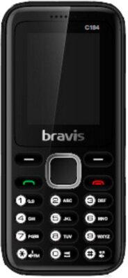 Мобільний телефон Bravis C184 Pixel Dual Sim Black 1