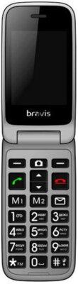 Мобильный телефон Bravis C244 Signal Dual Sim Black 1
