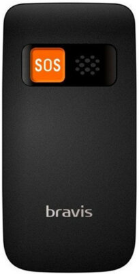 Мобильный телефон Bravis C244 Signal Dual Sim Black 2