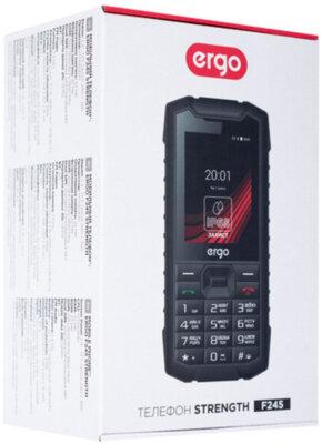 Мобильный телефон Ergo F245 Strength Dual Sim Black 8
