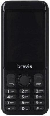 Мобильный телефон Bravis C281 Wide Dual Sim Black 1
