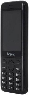 Мобильный телефон Bravis C281 Wide Dual Sim Black 2