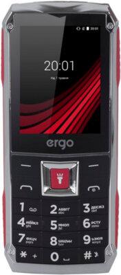 Мобильный телефон Ergo F246 Shield Dual Sim Black/Red 1