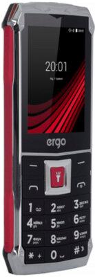Мобильный телефон Ergo F246 Shield Dual Sim Black/Red 3