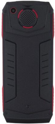 Мобильный телефон Ergo F246 Shield Dual Sim Black/Red 4