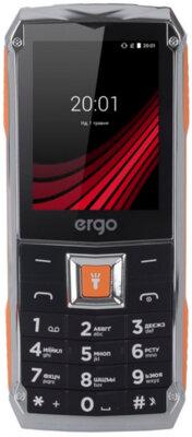 Мобильный телефон Ergo F246 Shield Dual Sim Black/Orange 1