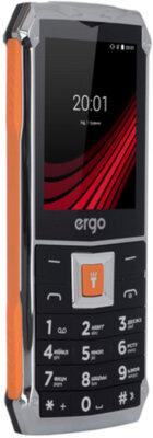 Мобильный телефон Ergo F246 Shield Dual Sim Black/Orange 5