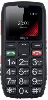 Мобільний телефон Ergo F184 Respect Dual Sim Black 1