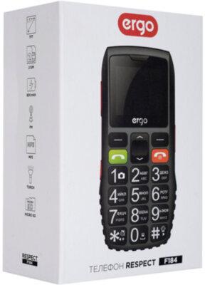 Мобільний телефон Ergo F184 Respect Dual Sim Black 5