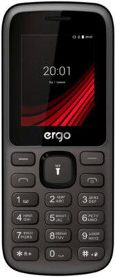 Мобильный телефон Ergo F185 Speak Dual Sim Black 1