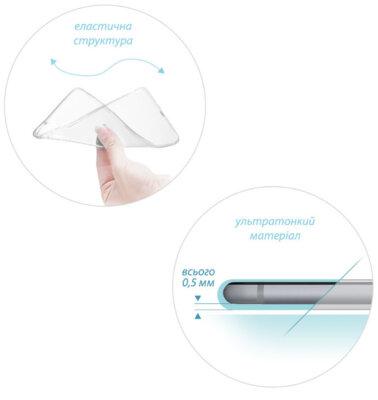 Чехол GlobalCase TPU Extra Slim для Samsung Galaxy A8+ A730 Transparent 2
