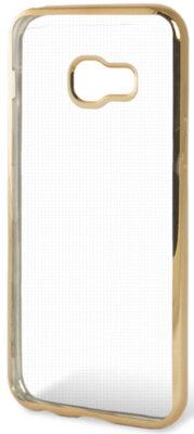 Чехол GlobalCase Electro TPU для Samsung Galaxy A3 (2017) A320 Gold 1