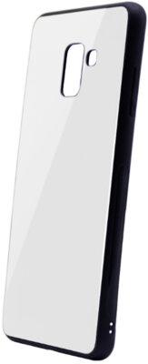 Чохол Intaleo Real Glass для Samsung Galaxy A8+ A730 White 1