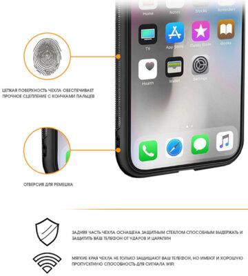 Чохол Intaleo Real Glass для Samsung Galaxy A8+ A730 White 2