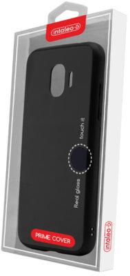 Чохол Intaleo Real Glass для Samsung Galaxy J2 2018 J250 Black 4