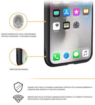 Чохол Intaleo Real Glass для Samsung Galaxy J5 (2017) J530 Black 2