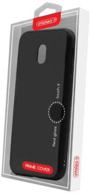 Чехол Intaleo Real Glass для Samsung Galaxy J3 2017 J330 Black 4