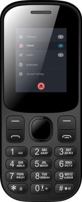 Мобільний телефон Nomi i185 Black 1