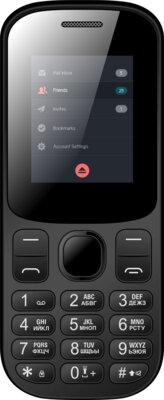 Мобільний телефон Nomi i185 Black-Blue 1