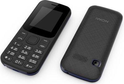 Мобільний телефон Nomi i185 Black-Blue 6