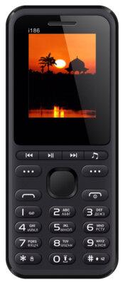 Мобильный телефон Nomi i186 Black 1