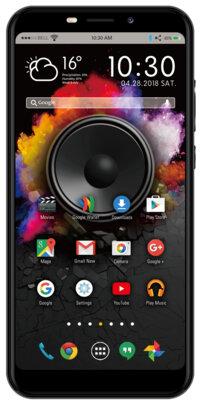 Смартфон Nomi i5710 Infinity X1 Grey 1