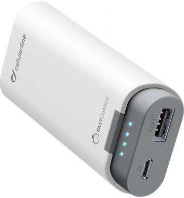 Мобильная батарея Cellular Line FreePower 5200 mAh White 1