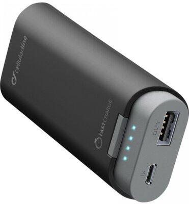Мобильная батарея Cellular Line FreePower 5200 mAh Black 1