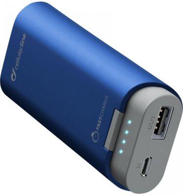 Мобильная батарея Cellular Line FreePower 5200 mAh Blue 1