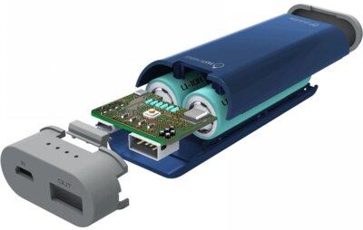 Мобильная батарея Cellular Line FreePower 5200 mAh Blue 2