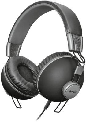 Наушники TRUST Noma Headphones Matte Black 1