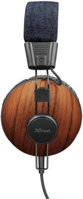 Навушники TRUST Noma Headphones Denim Wood 4