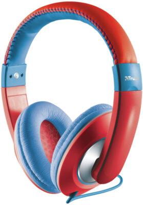 Наушники TRUST Sonin Kids Headphone Red 1
