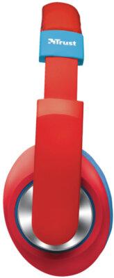 Наушники TRUST Sonin Kids Headphone Red 3