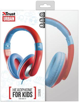 Наушники TRUST Sonin Kids Headphone Red 6