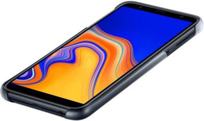Чехол Samsung Gradation Cover для Galaxy J4+ J415 Black 3