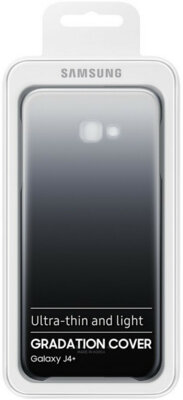 Чехол Samsung Gradation Cover для Galaxy J4+ J415 Black 7