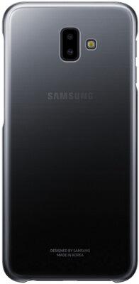 Чехол Samsung Gradation Cover для Galaxy J6+ J610 Black 1